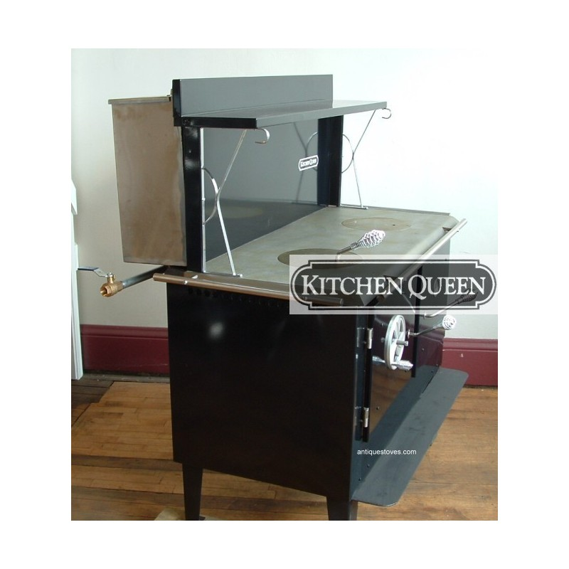 Wooden Kitchen Stove ~ Kitchen queen wood cook stove cooking