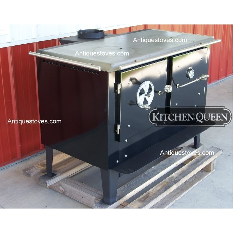 kitchen queen wood cook stove basic economy rh kitchenqueenstoves com kitchen queen 480 wood stove kitchen queen wood stove manual